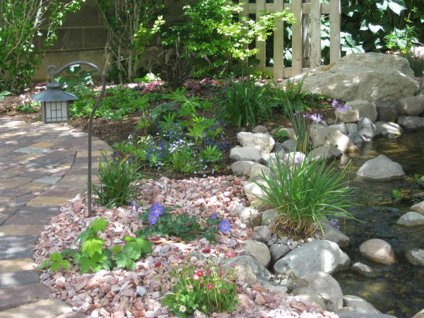 Flower garden ideas for Flower landscape ideas
