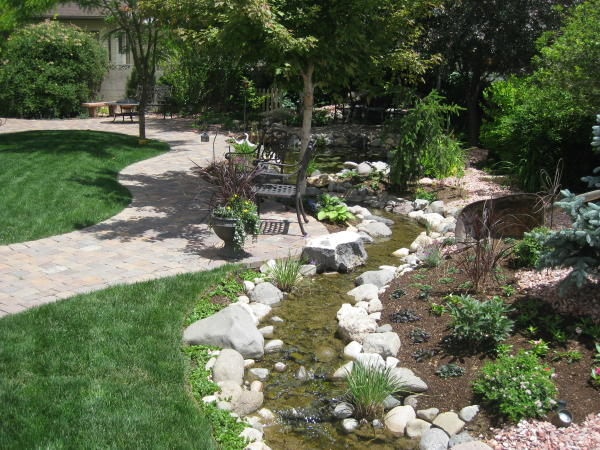 House Backyard Landscape : Landscaping Ideas For Hills ? Small Backyard Landscaping Ideas