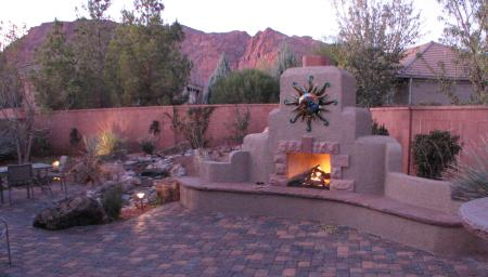 patio ideas with fireplace backyard landscaping design ideas amazing near swimming pool fireplaces patio - Patio Fireplace Designs