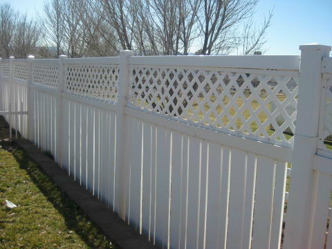 vynal fence