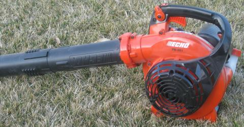 blower for landscape maintenance