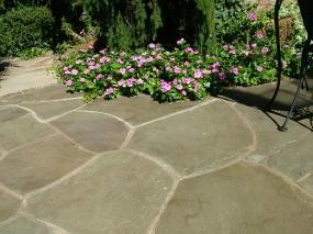 flagstone patio stone design