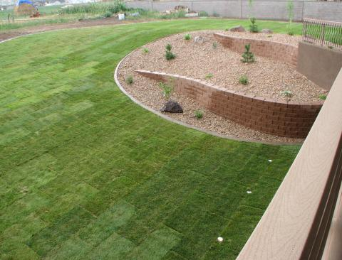 Landscape drainage for Yard drainage slope