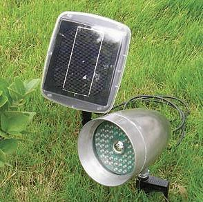 Solar light with pannel