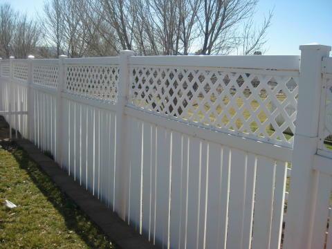 vynal fence