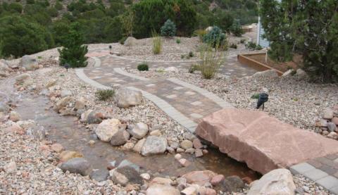 rock step bridge