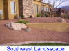 small picture of front yard landscaping in the southwest