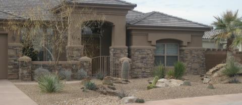 southwest style landscaping