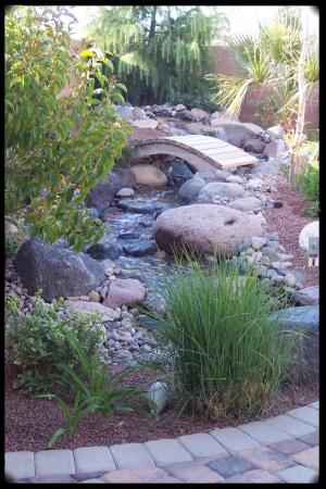 natural style waterfeature